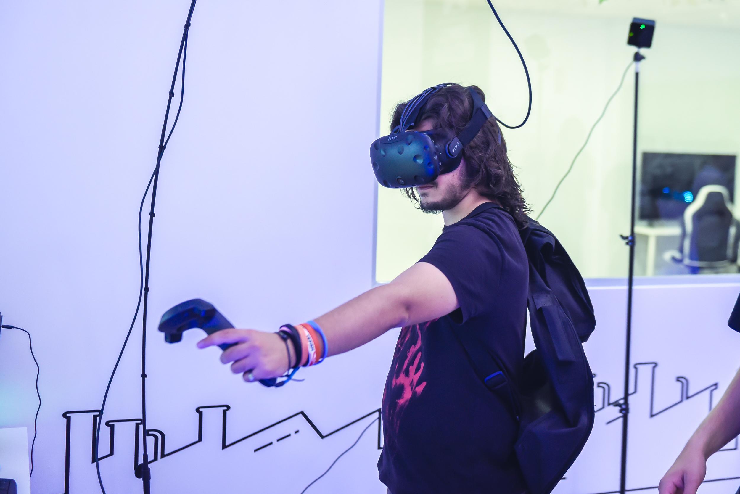 Realidad virtual La Fábrica del Videojuego