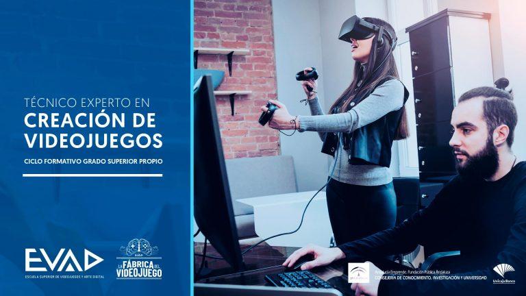 formación videojuegos