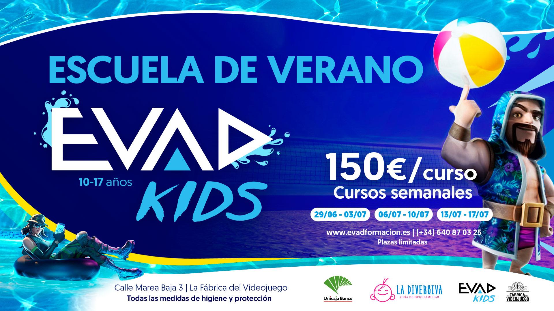 DISFRUTA DE LA ESCUELA DE VERANO EVAD KIDS